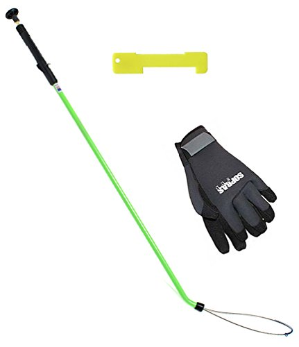 Lobster Kit With Snare, Small Sopras Sub Gloves 3mm and Plastic Gauge, Scuba Diving, Hunting, Spear Fishing