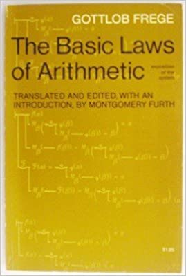 Book Basic Laws of Arithmetic by Gottlob Frege (1967-08-03)