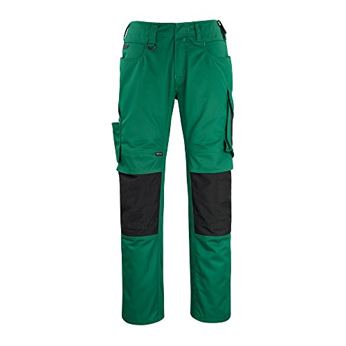 Mascot 12179-203-0309-82C50''Erlangen'' Trousers, L82cm/C50, Green/Black by Mascot (Image #1)