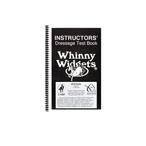 Whinny Widgets Instructor's Dressage Test Book - 2019 ()