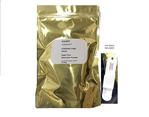 - 2 lb Eckart German Blackhead 5413 H Super Aluminum Powder 3 Micron