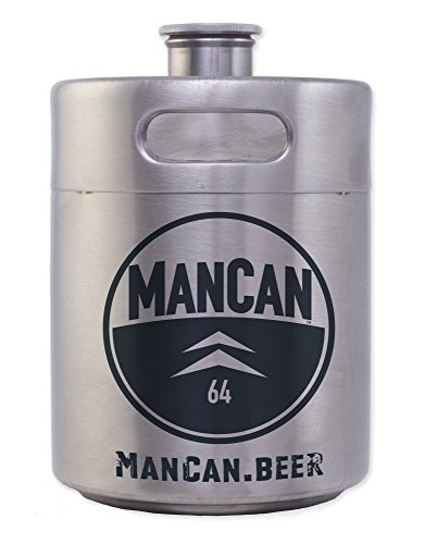 ManCan Portable Keg style Beer Growler product image