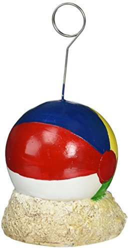Beistle 50963 Beach Ball Photo Balloon Holder ()