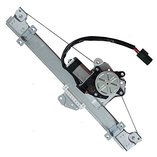 Drivers Front Power Window Lift Regulator w/Motor Assembly Replacement for Nissan Altima w/One Touch 80721-3TA2A ()