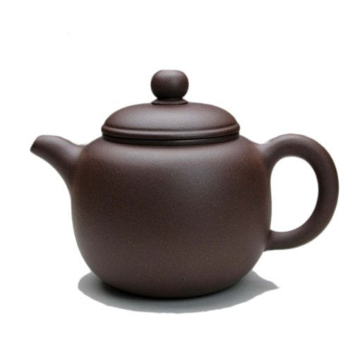 Chinese Yixing Purple Clay Handmade Paozun Hu Tea Pot Zisha Zi Ni Teapot 220cc