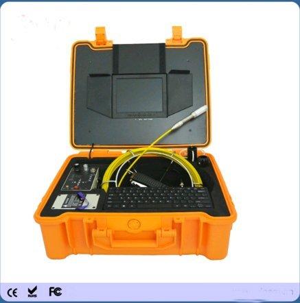 Kohstar512 Hz locator cctv 40m push rod sewer pipe inspecton video camera for sale
