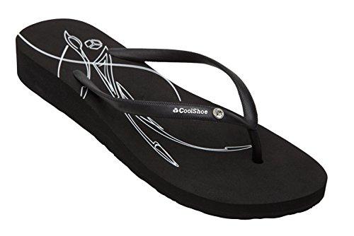 Cool Shoe - Flip Flop Zehentrenner Gr. 41 schwarz