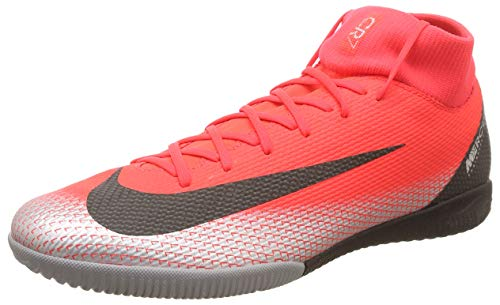 dd99d11b5 Nike Men s SuperflyX 6 Academy CR7 Indoor Soccer Shoes (12 M US) Red
