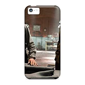 Hard Plastic Iphone 5c Case Back Cover,hot Steve Rogers And Howard Stark Captain Case At Perfect Diy