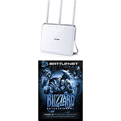 TP-LINK AC1900 Dual Band Wireless AC Gigabit Router and $20 Battle.net Store Gift Card Balance