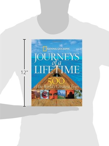 41giI0h5TlL - Journeys of a Lifetime: 500 of the World's Greatest Trips