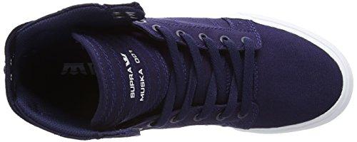 zapatillas Navy unisex altas deportivas SKYTOP Azul de Supra lona D Nvy White Enx4qwZgT
