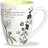 Mark My Words 30th Birthday Mug, 4-3/4-Inch, 20-Ounce Capacity