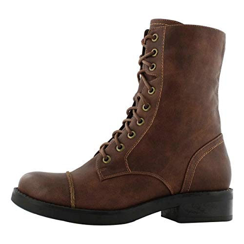 SoftMoc Combat Up Boots Women's Brown Lace Tegan rwpFrR