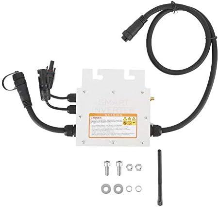 Caredy IP65 wasserdicht 250W MPPT Micro Solar Wechselrichter Konverter, SG450MD Grid Tie Wechselrichter Solar Grid TieSolar Wechselrichter Grid Tie 18-50VDC bis 120 / 230VAC(120V)