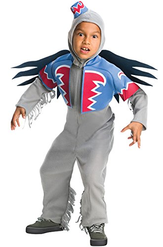 [Wizard of Oz Deluxe Winged Monkey Costume, Medium (75th Anniversary Edition)] (Wizard Kids Costumes)