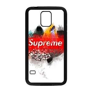 Suprema Q5M2Dt Funda Samsung Galaxy S5 funda caja del teléfono celular Negro Q9P3RS teléfono celular Cubiertas fundas Case