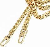 "WEICHUAN 47"" DIY Iron Flat Chain Strap Handbag"