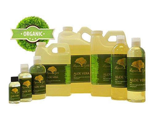 24 Fl.oz Premium Organic Aloe Vera Oil Pure Health Hair Skin