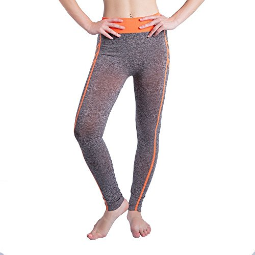 Women Gym Yoga Patchwork Sports Running Fitness Leggings Pants Athletic Trouser