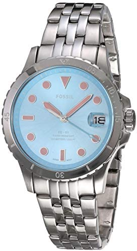 Fossil Women's FB-01 Stainless Steel Casual Quartz Watch WeeklyReviewer