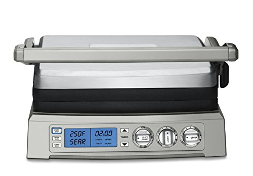 - Cuisinart GR-300WS Griddler, Elite, Stainless Steel