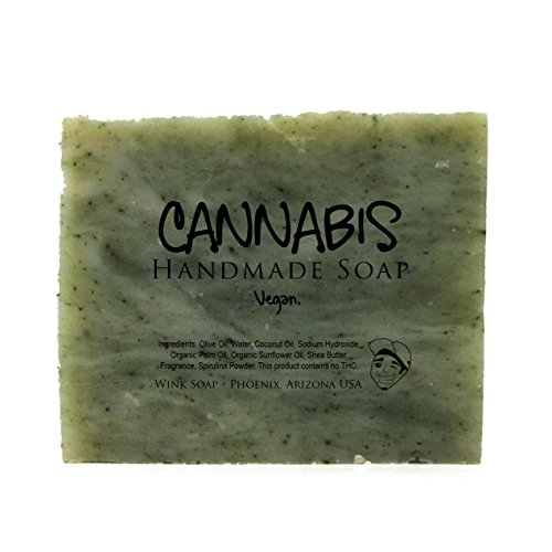 Cannabis-Handmade-Soap