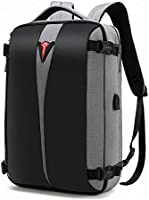 POSO Business 15.6 Laptop Backpack Anti-Theft Travel Bag with TSA Approved Lock and USB Charging Port for...