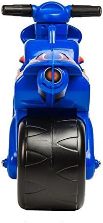 Rutscher/Motorrad in Blau für Kinder ab 18 Monaten mit IML-Dekoration Thundra