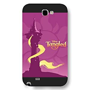 Customized Black Hard Plastic Disney Cartoon Tang led For SamSung Galaxy S3 Case Cover