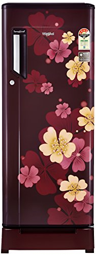 Whirlpool 215 L 4 Star Direct Cool Single Door Refrigerator(230 IMFresh Roy 4S, Wine Iris, Base Stand with Drawer)