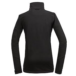 Topway Women's Windproof Outdoor Softshell Sports Jacket Coat Medium Black