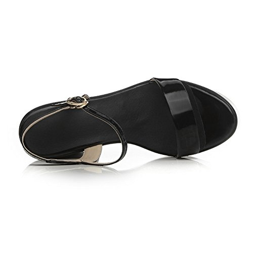 negro vestir para Sandalias Adee mujer de RXYwpT