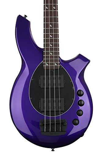 Ernie Ball Music Man Bongo 4 HH - Firemist - Bongo Guitar Bass