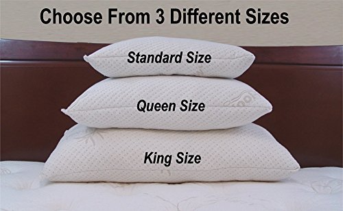 Snuggle Pedic extra Luxury Bamboo Bed Pillows Positioners