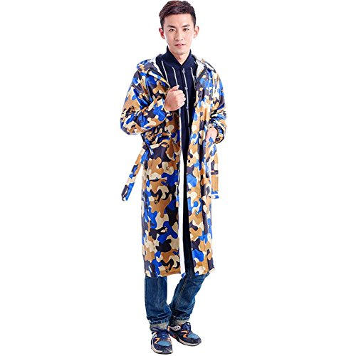 Raincoat Split Electric Car Men And Women Adult Riding Motorcycle Hiking Outdoor Fashion Poncho Long Section,#2,XXXL