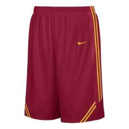 USC Trojans Crimson Screen Printed Replica Basketball Shorts By Nike Team Sports (XL=36-37)