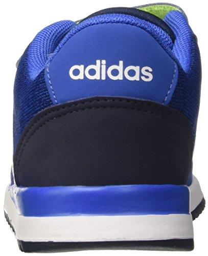 adidas V Jog CMF Inf, Zapatillas Unisex Niños Azul (Azul/ftwbla/maruni)