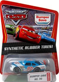 The South Diecast Car (Disney / Pixar CARS Movie 1:55 Die Cast Car Motor Speedway of the South #90 Bumper Save Synthetic Rubber Tires Exclusive)