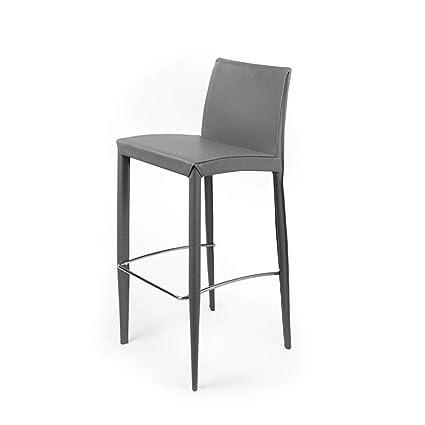 Amazon.com: Modern Minimalist Bar Chair, Fashion High Chair ...