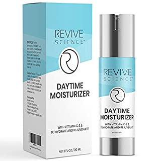 Daytime Face Moisturizer – Face Cream with Argireline, Vitamin C & E & Clinical Complexes to Help Hydrate, Minimize Pores, & Reduce Fine Lines - Anti Aging Face Moisturizer for Women & Men