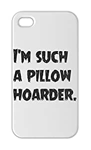 I'm such a pillow hoarder. Iphone 5-5s plastic case