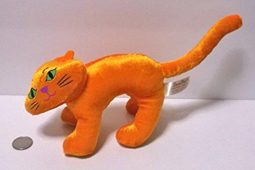 Screeching Orange Cat Plush - Halloween]()