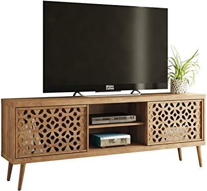Caemmum - Mueble para TV (72 pulgadas, 180 cm, patas de madera ...