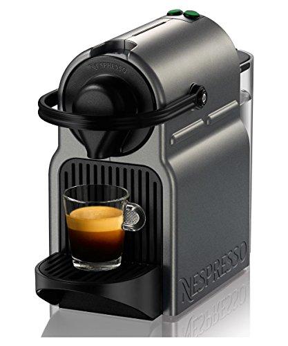 nespresso inissia espresso maker titan single serve brewers all for coffee tea espresso. Black Bedroom Furniture Sets. Home Design Ideas