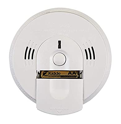 Kidde Intelligent Detector Alarm Battery Operated Combination Smoke & Carbon Monoxide Detector Alarm | Model KN-COSM-XTR-BA