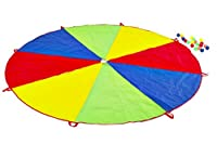 Garden Games 535 - Fallschirm Spiel mit 20 Kugeln (mehrfarbig), 2,5 m...