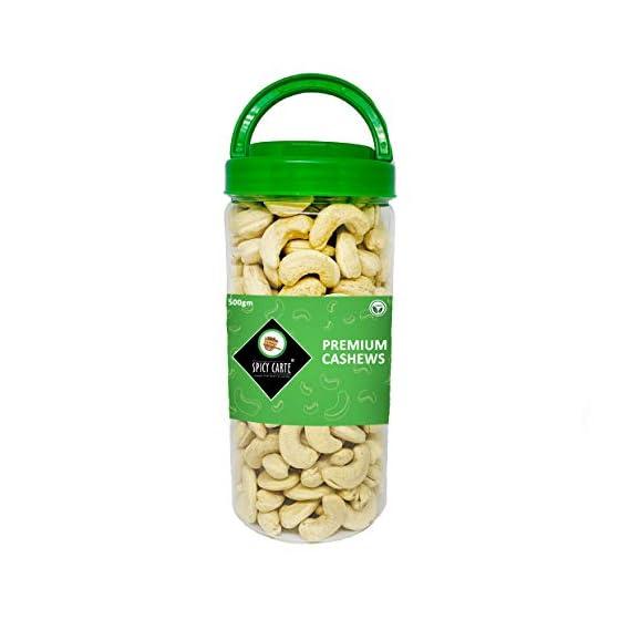 Spicy Carte Premium Cashews, 500gm