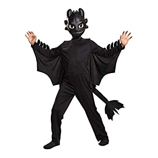 How to Train Your Dragon Toothless Classic Costume Kid's Size 7/8