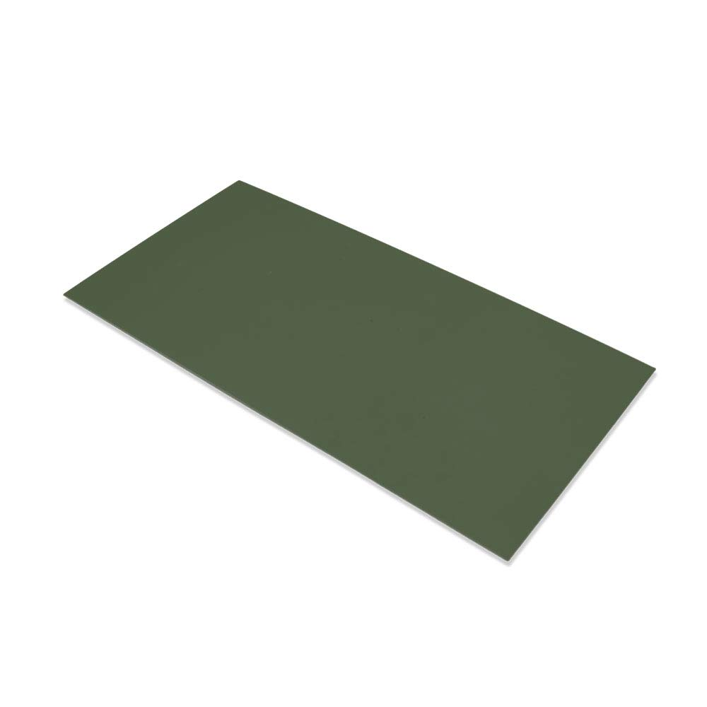 """G10 Spacer 5"""" X 10"""" X 1/32"""" Handle Material for knife making & gun making, (Green)"""